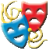 Performing Arts Emoji Domain For Sale
